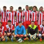 La première équipe du FC Pleigne, saison 2016/17